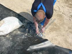 Испытание шва на герметичность