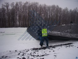 Ленинградская обл. Свалка бытовых отходов